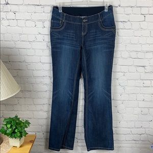 Motherhood Maternity stretch blue jeans